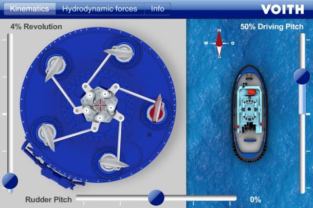 Voith iVSP - Interactive Voith Schneider Propeller on the