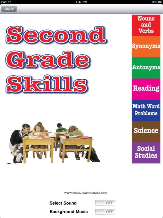 Second Grade Skill