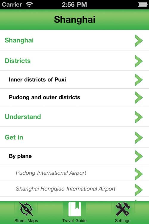 Shanghai Offline Street Map