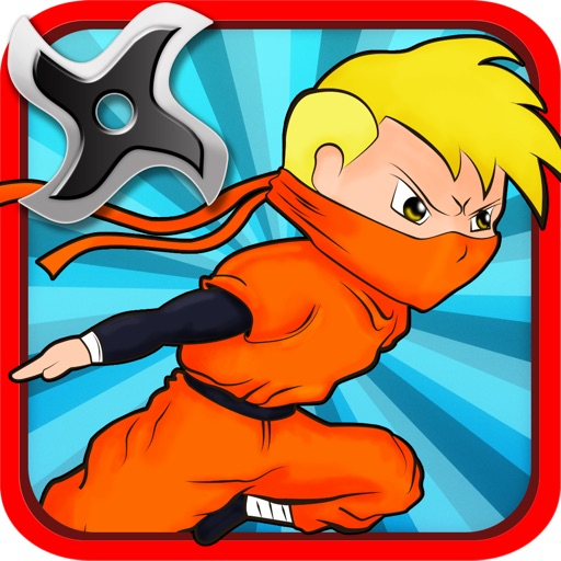 Brave Kid Ninja vs Clumsy Zombie Samurai Run: Temple Defense Free icon