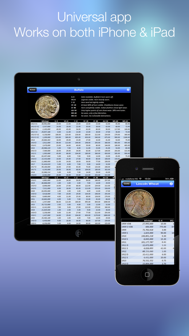 CoinBook Pro: A Catalog of U.S. Coins - an app about dollar, cash & coinのおすすめ画像5