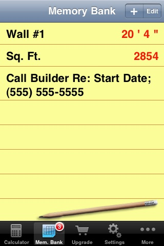 Carpenter's Helper Lite - Free Construction Calculator