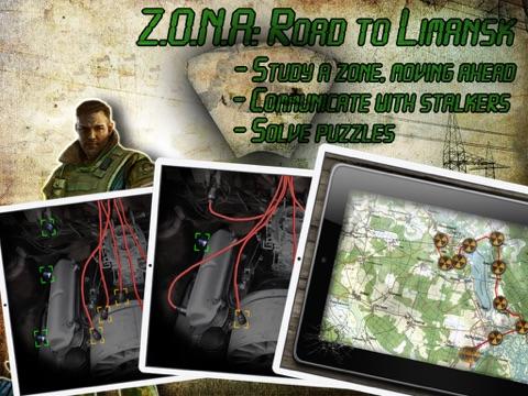 Z.O.N.A: Road to Limansk HD Lite-ipad-1