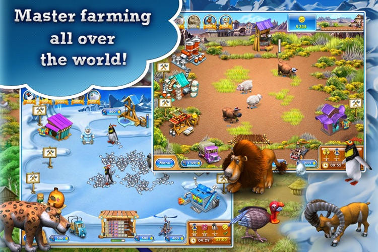 Farm Frenzy 3 Free screenshot-0