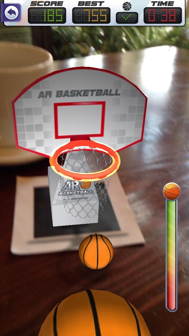 ARBasketball - Augmented Reality Basketball Game Screenshot 5