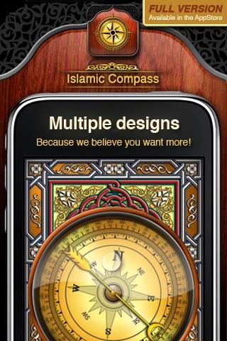 Islamic Compass Free - Prayer Times and Adhan Alarm screenshot-4