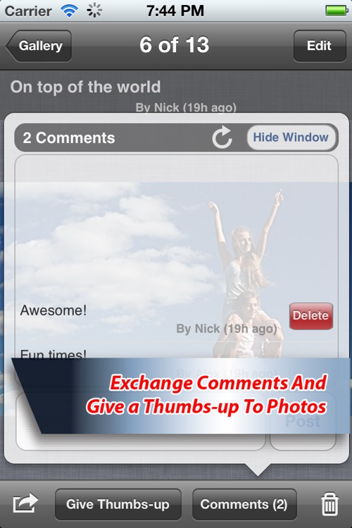 Pixity: Fun, Easy & Collaborative Sharing Of Photo Albums screenshot-4