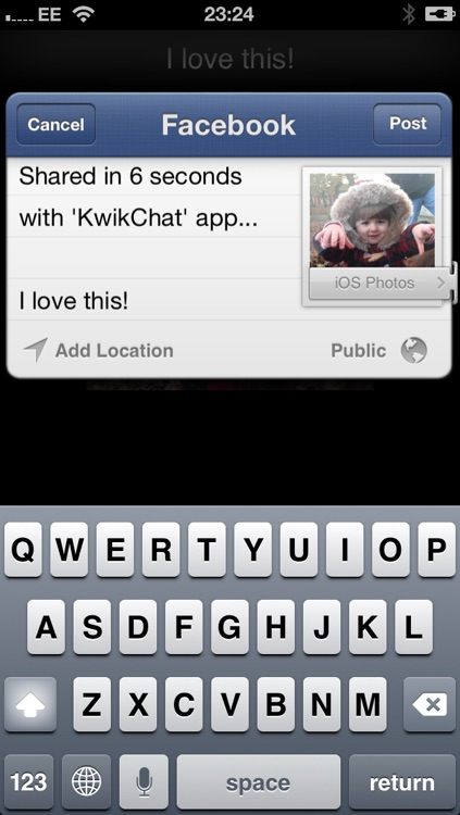 KwikChat for Facebook Twitter SMS screenshot-4