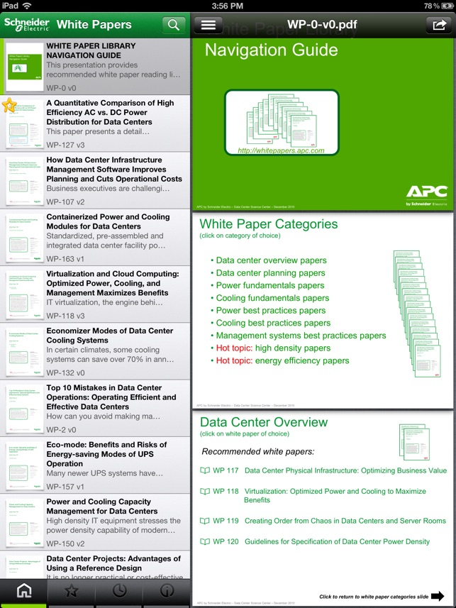 Schneider Electric White Papers On The App Store