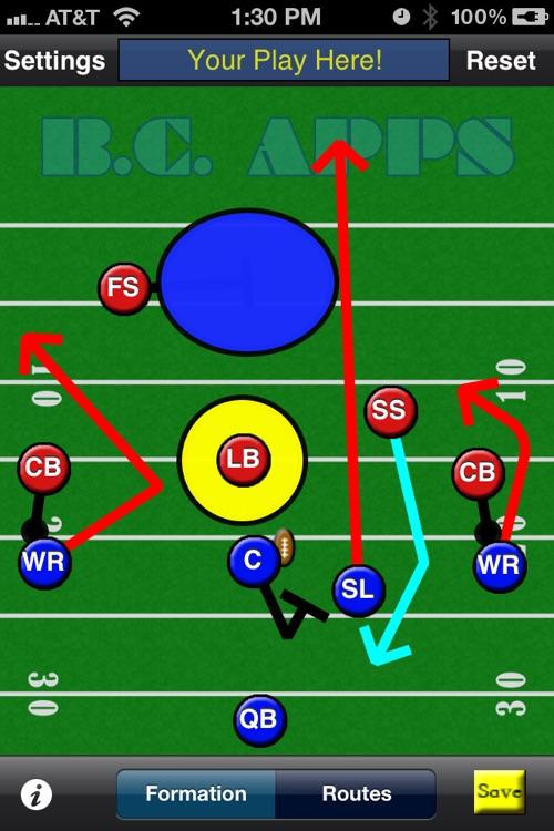 5-Man Flag Football Plays-Offense screenshot-4