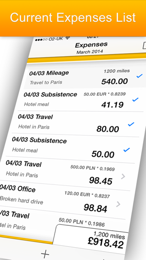 iexpenses business travel expenses on the app store