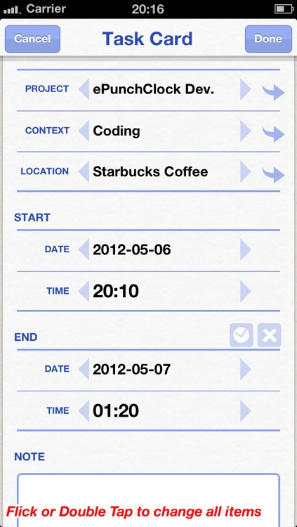 ePunchClock screenshot-2