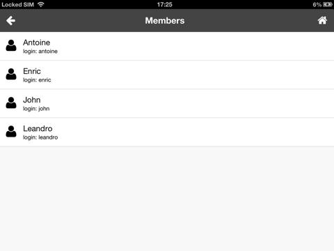 Screenshot of uMobile for iOS