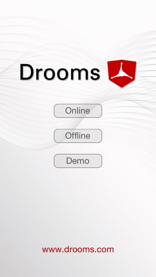 Drooms® für iPad und iPhoneScreenshot von 1