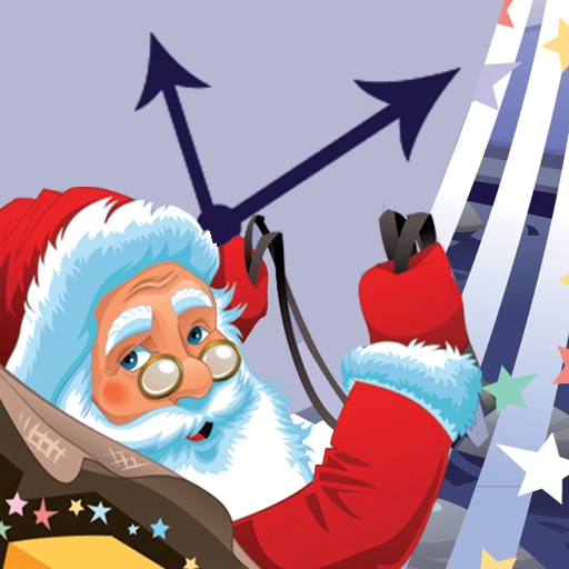 Santa Clock for iPad icon