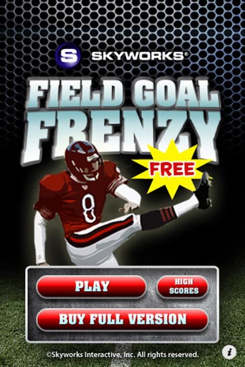Field Goal Frenzy™ Football Free