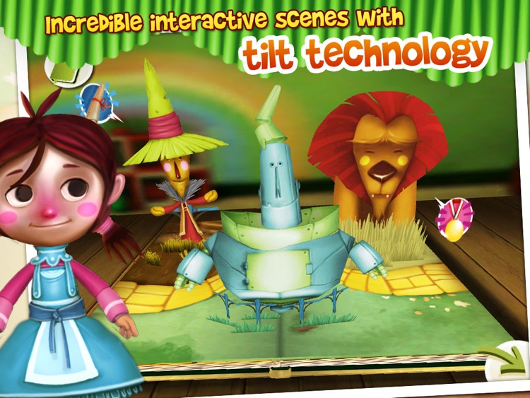 The Wizard of Oz: Interactive 3D Pop Up Book