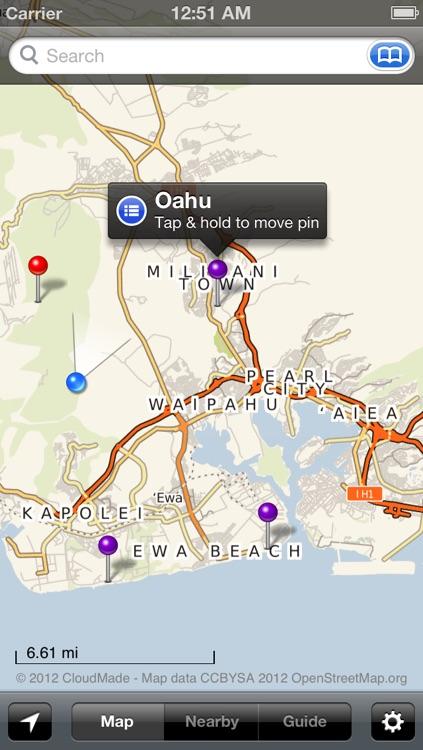 Smart Maps - Honolulu (Oahu) screenshot-4