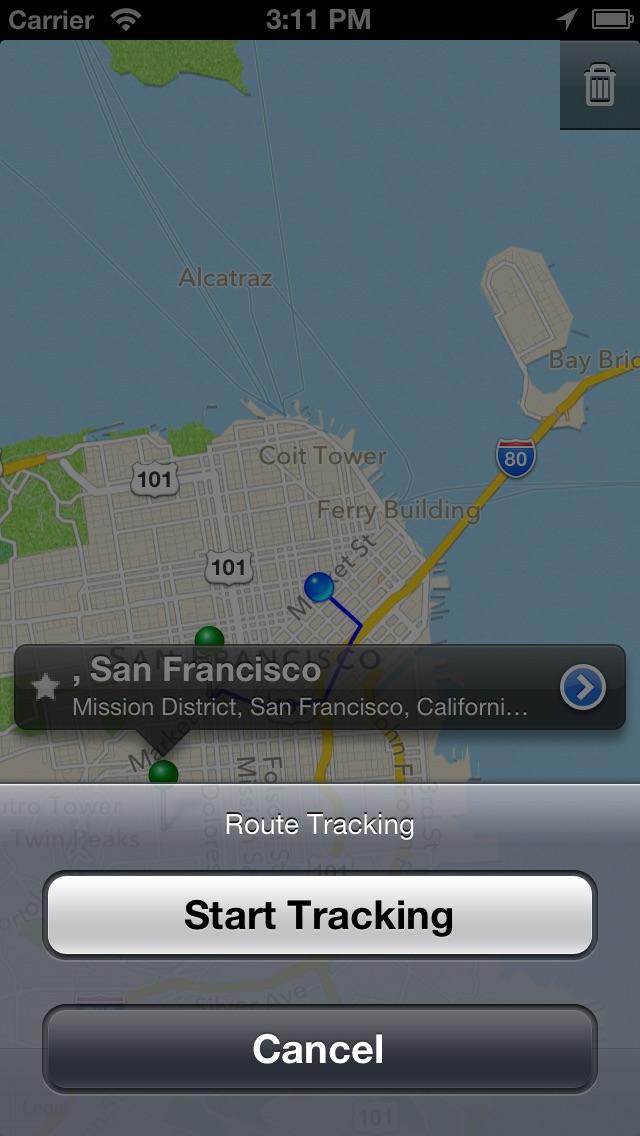 我的地圖親屏幕截圖3