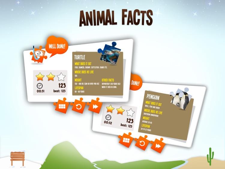 JiGi's Jigsaw Animals screenshot-3