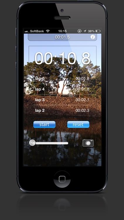 Transparent Stopwatch