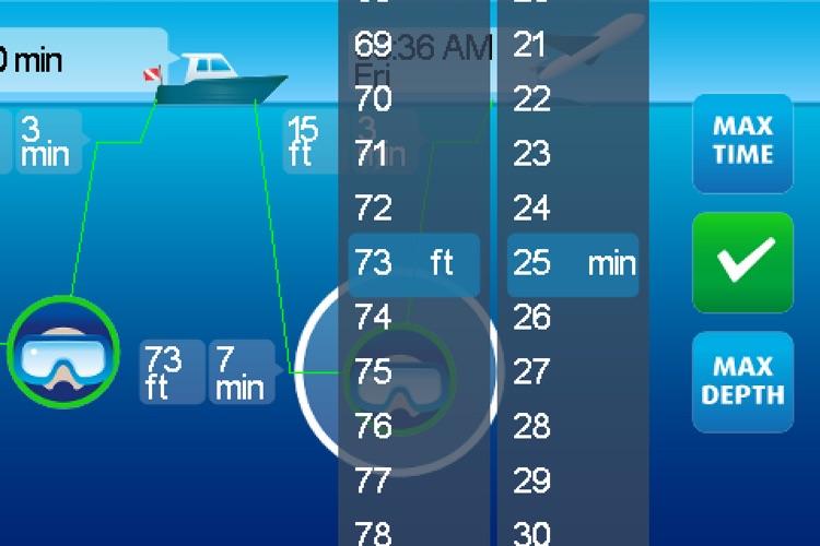 DiveMax NITROX Dive Planner screenshot-3