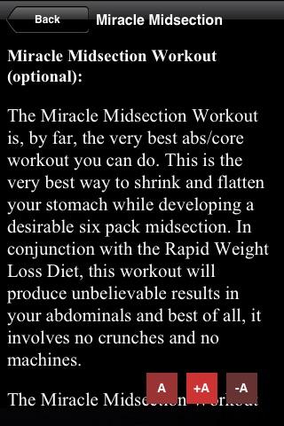 Rapid Weight Loss Diet App
