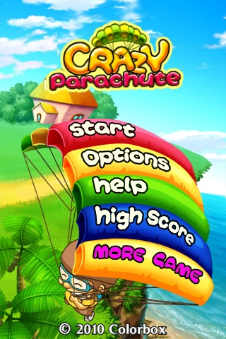 Crazy Parachute screenshot-1
