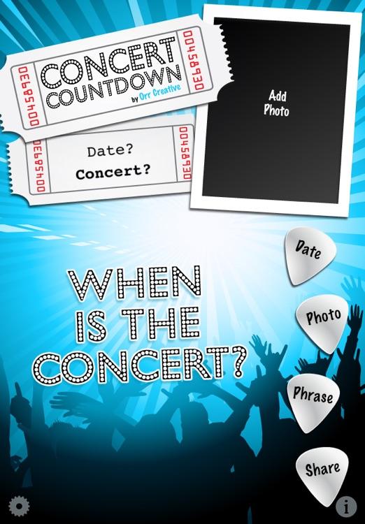 Concert Countdown
