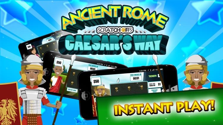 Ancient Rome Lucky Scratch Off Tickets Free screenshot-4