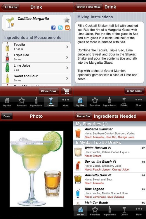 InMyBar - Drink & Cocktail Recipes screenshot-1