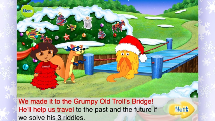 Dora's Christmas Carol Adventure screenshot-2