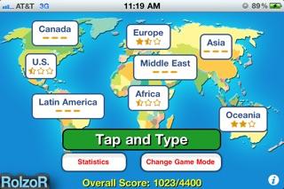 TapQuiz Maps World Edition-2