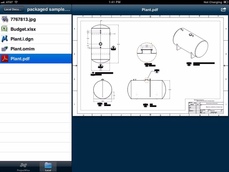 ProjectWise Explorer Mobile screenshot-2