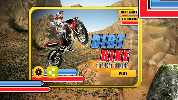 A Dirt Bike Stunt Rider - Motocross Skills Race Free Game