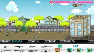 Zombie School Defense screenshot two
