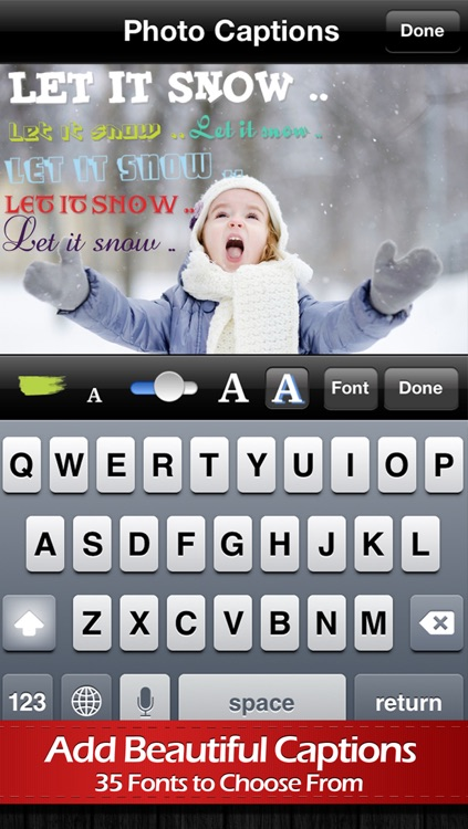 Photo Captions Free: Frames, Cards, Collage, Text & more screenshot-3