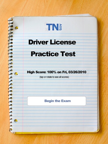 tennessee drivers license test app
