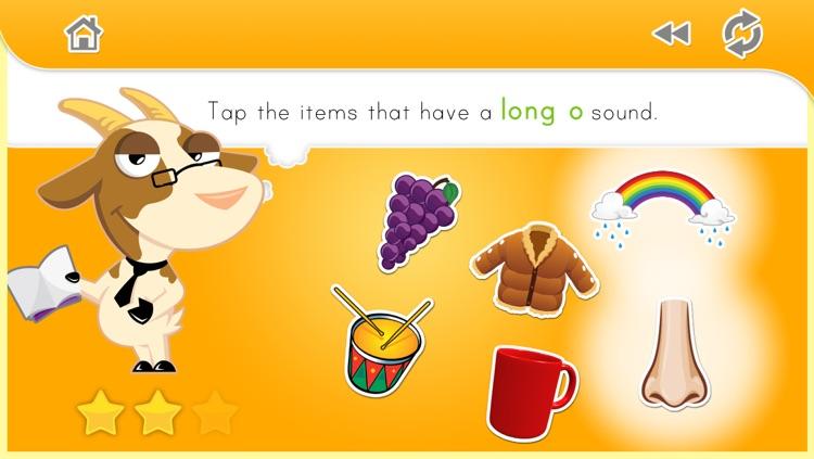 Phonics Fun:  Long and Short Vowel Sounds screenshot-4