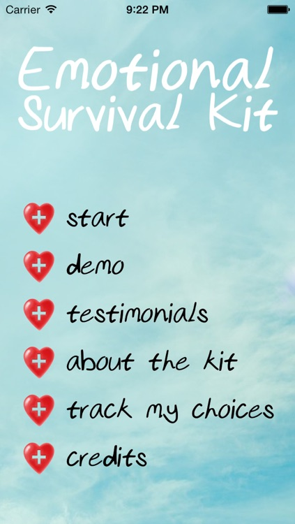 Emotional Survival Kit