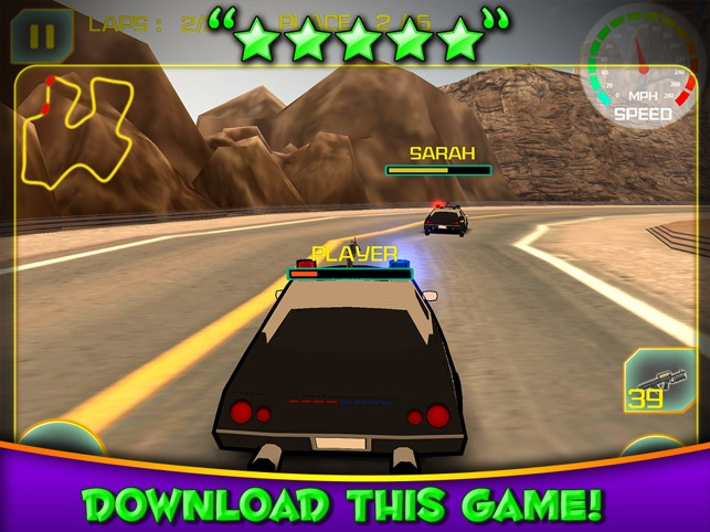 3d Police Car Race Cop Racing Games On The App Store