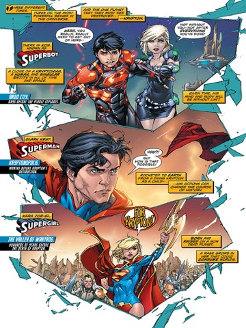 Superman (2011- ) #25 By Scott Lobdell & Kenneth Rocafort