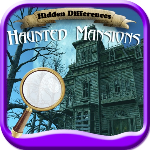 Hidden Differences: Haunted Mansions!