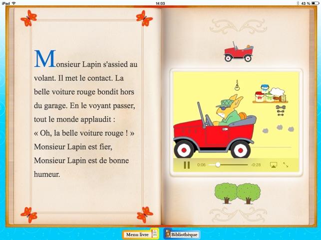 racontine histoire pour enfant en livre anim fran ais anglais dans l app store. Black Bedroom Furniture Sets. Home Design Ideas