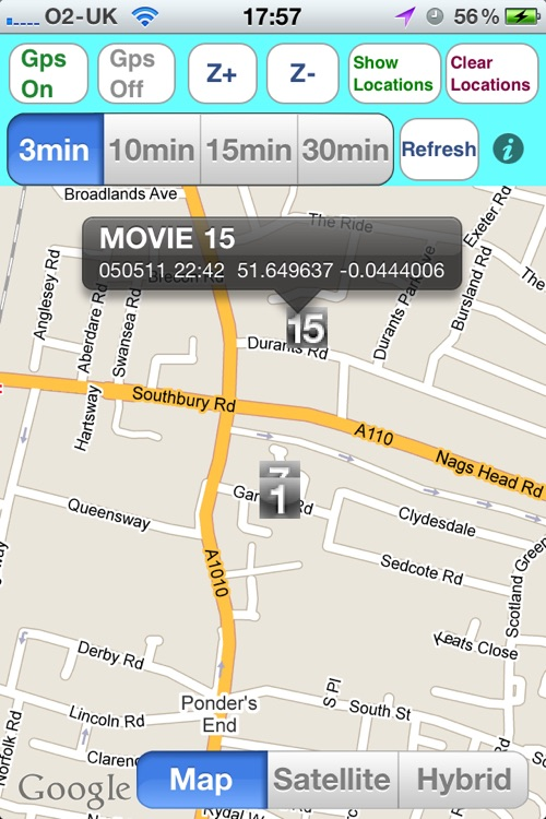 Gps Vehicle/Child/iPad Location Tracking Lite