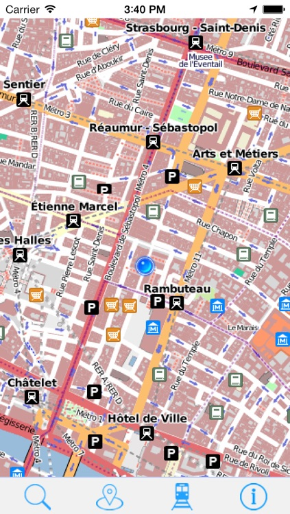 OffLine Map Paris - Guide Attractions and Transport screenshot-4