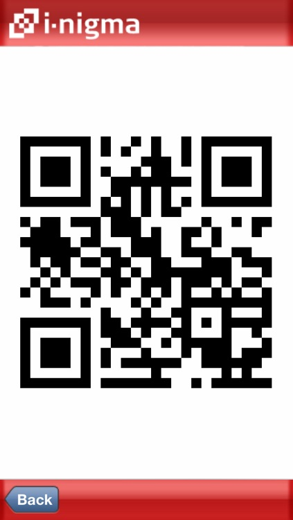 i-nigma QR Code, Data Matrix and 1D barcode reader screenshot-2