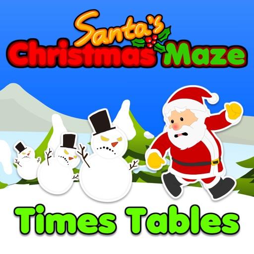 Santa's Christmas Maze: Times Tables