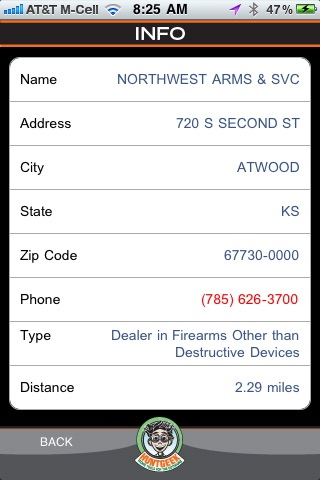 FFL Finder - Federal Firearms Licensee Finder