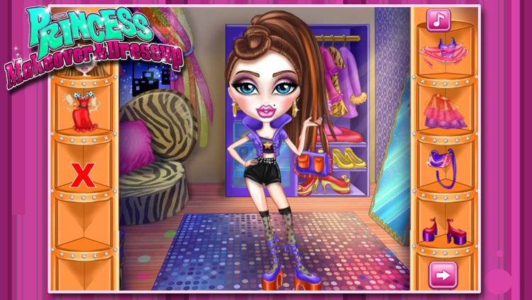 Princess Makeover&Dressup screenshot-3
